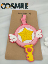 Card Captor Sakura Kinomoto Pink Magic Baggage Tag Bag Accessory Cosplay Sa