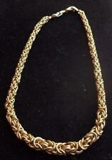 NINA RICCI Vintage Necklace Haute Couture Fancy Gold Graduated Chain