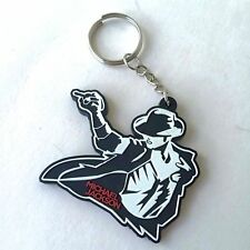 NEW MICHAEL JACKSON RUBBER KEYCHAIN ROCK MUSIC Memorabilia Gift Collectible