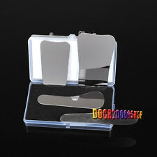 4PCS ORTHODONTIC INTRA-ORAL DENTAL CLINIC STAINLESS STEEL PHOTOGRAPHY MIRRORS