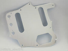 MIRROR CHROME SCRATCH PLATE Pickguard to fit USA/Mex JAGUAR Guitar