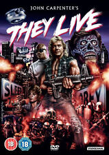 DVD:THEY LIVE - NEW Region 2 UK