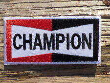 ECUSSON PATCH THERMOCOLLANT aufnaher toppa CHAMPION moto motorcycle motorrad