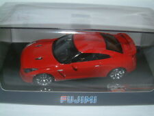 1/43 FUJIMI NISSAN GT-R R35 IN RED.