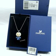 Swarovski Eliot Swing Sing Pendant, Bow Tie Blue Crystal Authentic MIB 1128059