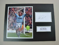 Uwe Rosler Signed 16x12 Photo Autograph Display Manchester City Memorabilia +COA
