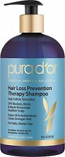 PURA D'OR Hair Loss Prevention Therapy Premium Organic Argan Oil Shampoo