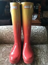 Hunter Tall Rain Boots Women's Size 9 Cool Colors! New!
