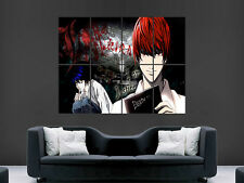 DEATH NOTE MANGA JAPANESE COMIC  GIANT POSTER PRINT ART