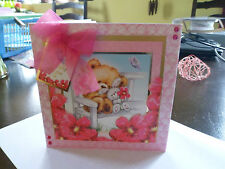 Handmade Birthday Card Bear Necessities saying Especially for you