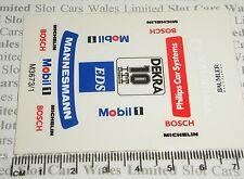Scalextric-Sticker Set-Opel DTM #10 - NUOVO
