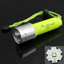 New 60m Diving CREE XML-T6 1600 Lm LED Lamp Flashlight Waterproof Torch Light