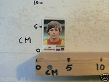 STICKER,DECAL VOETBAL 79 PANINI VOETBAL SOCCER ALBUM 87 JAN GROENEWEG GO AHEAD