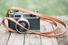 APERPURE Leather Camera Strap For Shoulder/Neck -  Tan