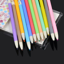 12 Color Mechanical Pencils Kid Child Painting Drawing Pens Stationery Cute Gift