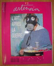 REVUE ARTENSION N°23 AVRIL 1991 VELICKOVIC MUZO LARTIGUE TAJAN