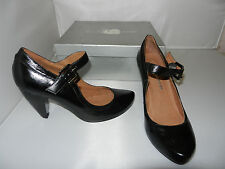 Lucy Lockett Heels Style Chimed in Black Patent size 36 NEW - W1-513