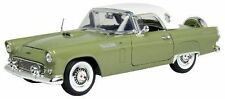 MOTOR MAX 1:18 AMERICAN CLASSICS 1956 FORD THUNDERBIRD WITH WHITE TOP 73176AC