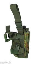 Pistol Holster Left Hand Large (German Flecktarn) Fits TiPX, Tiberius 8 [DC4]