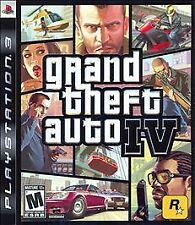 GRAND THEFT AUTO IV GTA 4 PS3 GAME~BRAND NEW & FACTORY SEALED~FAST FREE SHIPPING