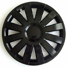 "15""  Mini ONE   WHEEL TRIMS COVERS  HUB CAPS  SET OF 4 x15''  black"