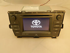 11-14 Toyota Prius NAVIGATION GPS CD PLAYER  Harman Bluetooth Display Screen OEM