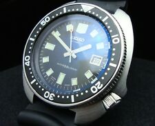 Vintage Seiko divers watch 6105 8110 HACKING MARTIN SHEENE SAPPHIRE CRYSTAL J65.