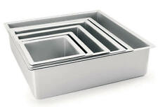 BACKFORM QUADRATISCH 15 cm MINI ANTIHAFT TORTENFORM QUADRAT CAKE PAN PROFOND