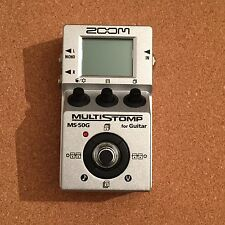 Zoom MS-50G Guitar Multi Effects Pedal. Perfect Condition. Box And Paperwork