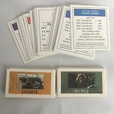 2003 Monopoly Lord Of The Rings Replacement Property Title Deeds Cards Trilogy