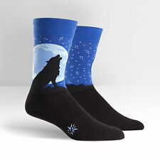 Sock It To Me Men's Crew Socks - Howl at the Moon