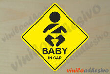 PEGATINA STICKER VINILO Bebe a bordo ref6 Baby on board autocollant aufkleber