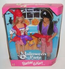 1998 Target Special Edition Halloween Party Barbie and Ken Pirate Costume