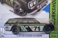 2015 Hot Wheels Kmart Day 1971 DATSUN BLUEBIRD 510 WAGON
