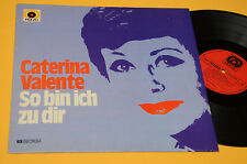 CATERINA VALENTE LP SO BIN ICH ZU DIR ORIG GERMANY HORZU EX TOP COLLECTORS !