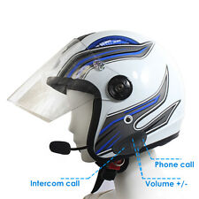 R1 Motorcycle Helmet Bluetooth Handsfree Headset / Wireless Intercom Phone