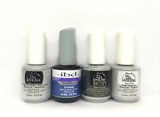 IBD Just Gel Polish- 4pc: BASE + TOP + BOND +  MATTIFY Matte TOP COAT .5oz