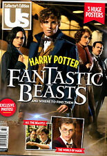 US Magazine Collector's Edition: Harry Potter Fantastic Beasts NEW w/ 3 Posters