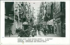 1988 Buenos Aires' Calle Florida Street in Argentina Original News Service Photo
