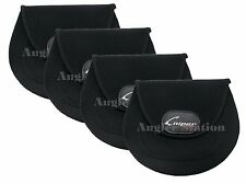 4 x Sniper Fishing Reel Cover for Shimano Daiwa Reel - Size L (BLACK)