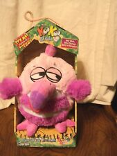 "Jay At Play Koo Koo Birds Toucan Bird Pink Micro Beads Plush 12"" In Box"