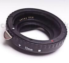 13mm AF Autofocus Automatic Macro Extension Tube ring for CANON EOS EF EFS fit