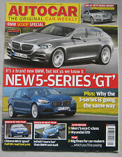 Autocar 31/12/2008 featuring MG TF road test, Audi S5, BMW , Infiniti G37S Xoupe