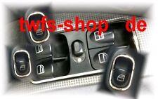 D Mercedes W203 Chrom Rahmen für Schalter Fensterheber Edelstahl poliert 4 Teile