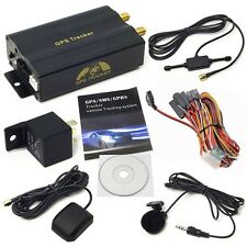 GPS Car Tracker with GPRS and Vehicle Theft Protection System Global coverage