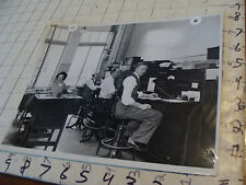vintage Telephone Topics Photo: repair room for switchboard i think,