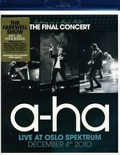 a-ha: Ending on a High Note - Final Concert (2011, REGION ALL Blu-ray New)