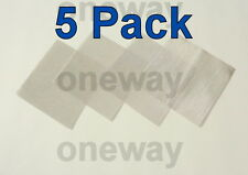 "(5 Pack) 4"" x 4"" - 80 Mesh Heavy Duty Stainless Steel Mesh Screen! 710"