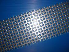 BUCHERT  Edelstahl - Lochblech - Qg 10-15- 1000 x 500 x 2,0 mm - VA - walzblank