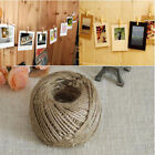 30m New Twine String Natural Craft Floral Wedding Gift Tags Decor Wrap Craft